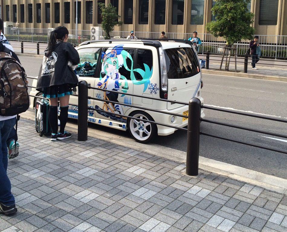 En helt vanlig, helt ren gata i Osaka